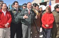 Ministro de Justicia destaca como el más grande operativo el traslado de reos bolivianos indultados