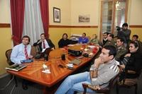 Nueva ley  de seguridad en los estadios  es presentada en Iquique por Cristián Barra