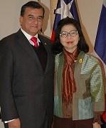 Embajadora tailandesa establece lazos con la Universidad Arturo Prat