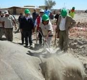 Instalan primera piedra de sistema de agua potable para La Tirana
