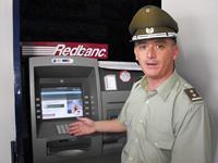 Carabineros entrega recomendaciones para utilizar los cajeros automáticos