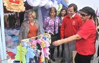 Mujeres emprendedoras de Tarapacá expusieron sus trabajos en Plaza Prat