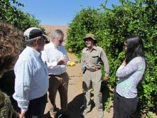 Presidente de CONICYT conoce trabajo que realiza el Centro de Investigación de Recursos Hídricos de Tarapacá