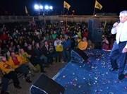Ministra del Trabajo, Evelyn Matthei encabezó lanzamiento de campaña de Galleguillos