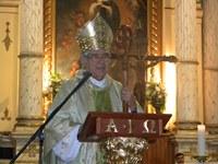 Una catedral llena de fieles emocionó a monseñor Lizama y al clero de Iquique