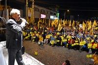 Masiva concurrencia en cierre de campaña de Ramón Galleguillos