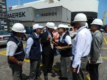 Expertos japoneses: Contenedores en el Puerto son inminente riesgo en caso de tsunami