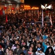 Concierto de Illapu y  multitudinaria Caravana en cierre de campaña de Soria