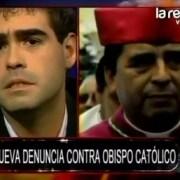 Impacto total por audio atribuible al obispo con su acusador, difundido en programa de TV