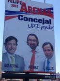 La foto de la discordia que complica al Ministro Golborne, en plena campaña municipal