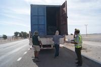 CONAF y Carabineros fiscalizan transporte ilegal de madera nativa en La Tirana