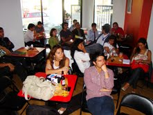 Jóvenes emprendedores que se atreven a innovar debaten en Meet Up de Corfo