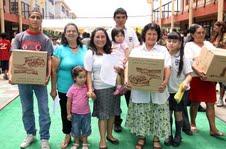 Partió campaña Misión Noche Buena para ofrecer cenas navideñas a familias vulnerables