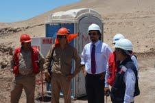 Tras fiscalización a la Planta de yodo de Cosayach, mejorarán condiciones para trabajadores