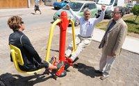 Implementan nueva plaza activa en Alto Hospicio