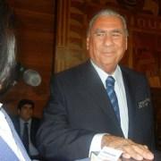 Una cuota de humor marcó el primer discurso de Soria, al asumir como alcalde de Iquique