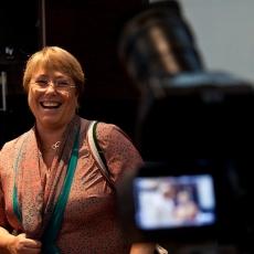 Bachelet fue el personaje con mayores referencias en los medios de comunicación en diciembre