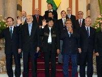 Evo Morales aborda con ex presidentes y ex cancilleres demanda marítima