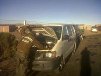 Detienen a 15 personas, incautan 12 vehículos y decomisan más de 50 mil cajetillas de cigarrillos en la frontera