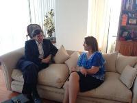 """Golborne llegó a Iquique en el marco de sus """"Diálogos con Chile"""""""