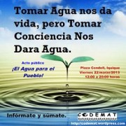 Día del Agua 2013: un día para tomar conciencia y exigir nuestros derechos