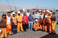 Acuerdo de trabajadores portuarios con la EPI e ITI pone fin a paro en el puerto de Iquique