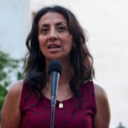 """Ministra Pérez reacciona molesta a los dichos de Tellier: """"Cuando uno dice defender la democracia, es aquí y en todo el mundo"""""""