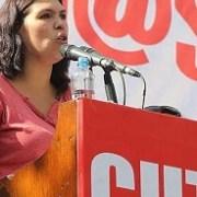 Bárbara Figueroa celebra llegada de la Nueva Mayoría al gobierno y compromete apoyo de la CUT