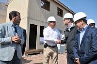 Ministro Elizalde anunció viviendas transitorias de alto estándar en toda la región