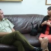 Sernam y Carabineros acuerdan cooperación mutua para casos de Violencia Intra Familiar (VIF)