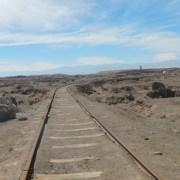 Por vía férrea a la usanza de la época del salitre, se unirán Humberstone y Santa Laura