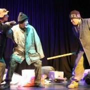 """Record de público en presentación de obra """"La ultima batalla"""", del teatro Expresión"""