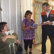 ONEMI Tarapacá difunde en terreno medidas de prevención en caso de desastres naturales