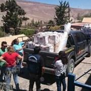 Municipio de Pozo Almonte entregó ayuda en pueblos de Huatacondo, Parca, Macaya y Mamiña
