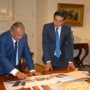 Soria se reunió con autoridades centrales para reactivar el Puerto y la Zona Franca