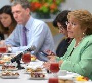 """Bachelet: """"A lo mejor ha sido un error quedarme callada, pero no he querido interferir en hechos que se están investigando"""""""