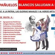 """""""Mil Pañuelos saludan a Prat"""", actividad de funcionarios de la UNAP en adhesión al 21 de mayo"""
