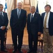 Finalmente Soria se reunió con Ministro del Interior y le entregó 557 firmas de empresarios para reactivación de Zofri