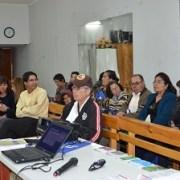 Fiscalía se reunió con representantes de la junta vecinal Granaderos