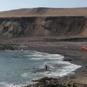 """Presencia de fragata portuguesa activa protocolo de cierre de Playa Ñajo y sector """"pejesapo"""""""