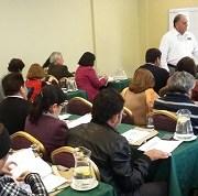 Capacitan a profesores en materia de Derechos Humanos, para fortalecer formación ciudadano de los estudiantes