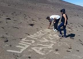 Increible: Concejal daña Cerro Unitas, a los pies del Gigante de Tarapacá, afectando el patrimonio regional