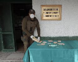 Incautan 14 mil dosis de pasta base en Colchane