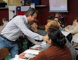 Con más de 400 adultos mayores se reunió diputado Trisotti:  «Pasamos agosto y hay que celebrarlo