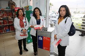 Instalan buzones para desechar medicamentos en farmacias de Iquique