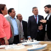 Seremi de Gobierno valora obras de reconstrucción del Puerto de Iquique