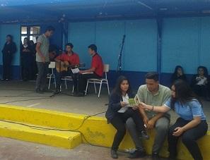 """Previene realizó Feria Preventiva en el Liceo """"Luis Cruz Martínez"""", logrando masiva participación del estudiantado"""