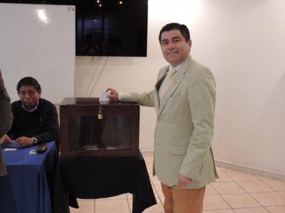 """""""Inmensamente agradecido y orgulloso por el 44% logrado"""", se manifestó el decano Alberto Martínez"""