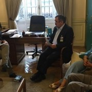 Senador Rossi, respalda al Colegio de Profesores en torno a proyecto de Carrera Docente