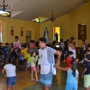 Mediante ejercicios de creatividad y dinámicas grupales promueven en niños la valoración del entorno barrial
